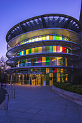 Indy Photos - Indianapolis Museum of Art Dusk 2 by David Haskett