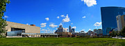 Jw Marriott Prints - Indianapolis Panoramic 4 Print by David Haskett
