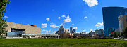 Jw Marriott Prints - Indianapolis Panoramic Print by David Haskett