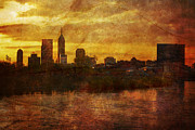 Indianapolis Metal Prints - Indianapolis Remix Bravo Metal Print by David Haskett