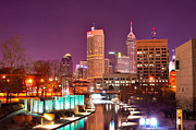 Indianapolis Art - Indianapolis Skyline 200 by David Haskett