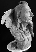 Featured Sculptures - Indiano by Roberto  Bianchi