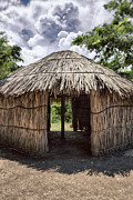 Indigena Framed Prints - Indigenous Tribe Huts in Puer Framed Print by Bryan Mullennix Photography