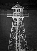 Alcatraz Metal Prints - Industrial Alcatraz Metal Print by Daniel Hagerman