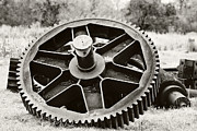 Gear Metal Prints - Industrial Gear Metal Print by Scott Pellegrin