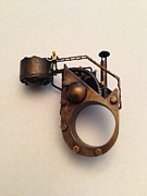 Brass Jewelry - Industrial by Julio Lopez