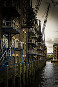 Subdue Prints - Industrial living Print by Matthew Bruce