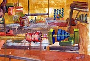 Hardware Shop Prints - Industrial Revolution Print by Micki Davis