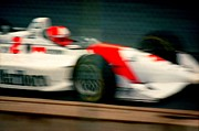 Indy Car Prints - Indy Car Print by David M Davis