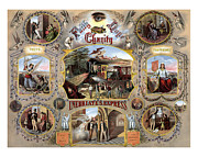 Alcohol Mixed Media Posters - Inebriate Express Vintage Temperance Poster Poster by War Is Hell Store