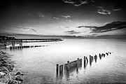 Pilings Prints - Inequity Print by Edward Kreis