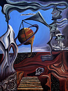 Surrealism Painting Acrylic Prints - Infatuasilaphrene Acrylic Print by Ryan Demaree