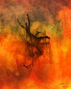 Inferno Print by Pedro L Gili