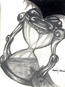 Hourglass Drawings - Infinite by Dominick Hambrick