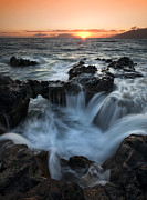 Maui Photo Posters - Influx Poster by Mike  Dawson