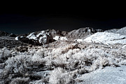Infrared Framed Prints - Infrared Canyon Shadows Framed Print by John Rizzuto