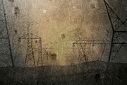 Power Lines Prints - Injection Print by Mark  Ross