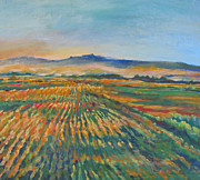 Inland Fields Print by Vanessa Hadady BFA MA