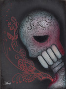 Sugar Skull Posters - Inner Feelings Poster by  Abril Andrade Griffith