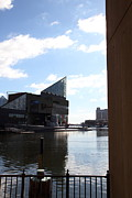 Inner Harbor At Baltimore Md - 12125 Print by DC Photographer