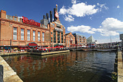 Urban Planning Prints - Inner Harbor Revival Print by George Oze