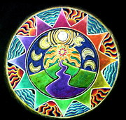 Goal Drawings - Inner Journey Mandala by Caterina Martinico