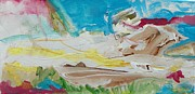 Psyche Paintings - Inner Landscape by Judith Redman