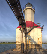 Saint Joseph Prints - Inner Range Light at Saint Joseph Print by Twenty Two North Photography