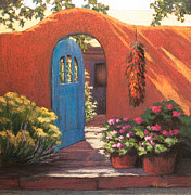 New Mexico Pastels Originals - Inner Sanctum by Vicky Russell