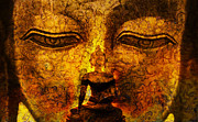Buddhism Metal Prints - Inner Strength  Metal Print by Tim Gainey