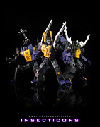 Prime Mixed Media - Insecticons by Frenzyrumble