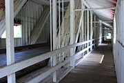 Inside You Prints - Inside Covered Bridge Print by Tim Rice