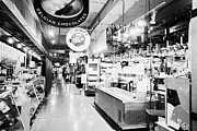 North Vancouver Metal Prints - inside lonsdale quay market shopping mall north Vancouver BC Canada Metal Print by Joe Fox