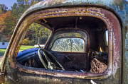 Old Trucks Photos - Inside Out by Debra and Dave Vanderlaan