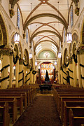Francis Photo Originals - Inside Saint Francis Cathedral by Jon Burch Photography