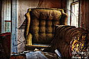 Haunted House Photos - Inside the 666 House by Jessica Grandall