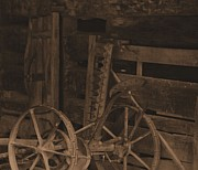 Dan Sproul - Inside The Barn In Sepia