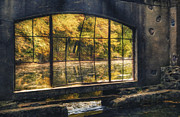 Surreal Landscape Photos - Inside the Old Spring House by Scott Norris