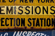Signs - Inspection Station Sign by Robert Ullmann