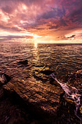 Sunset Seascape Prints - Inspiration Key Print by Chad Dutson
