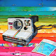 Camera Mixed Media Posters - Instant Gratification Poster by Danny Phillips