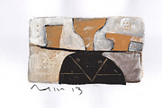 Primitive Paintings - Instar No.6 by Mark M  Mellon
