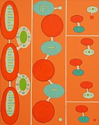 Debra Jacobson Posters - Integral Sequence Poster by Debra Jacobson
