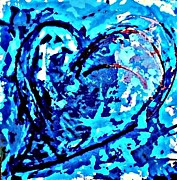 Featured Art - Intense Heart 2 by DM Kent