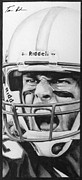 Tom Brady Prints - Intensity Tom Brady Print by Tamir Barkan