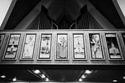Nord Prints - Interior Balcony And Reliefs Hammerfest Church Finnmark Norway Europe Print by Joe Fox