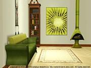 Interior Design Idea - Kiwi Print by Anastasiya Malakhova