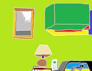Interior Kitchen 2 Print by Anita Dale Livaditis