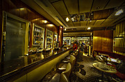 Hdri Prints - interior of a bar HDR Print by Dan Yeger
