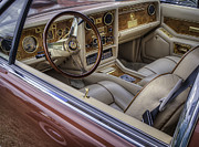Hand-built Prints - Interior Of A Stutz Blackhawk Print by Thomas Young